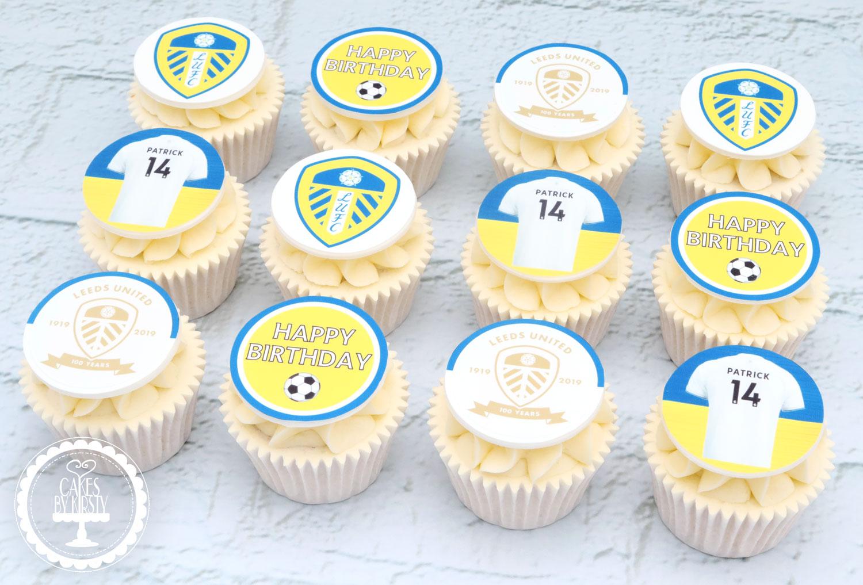 20210115 - Leeds United Cupcakes