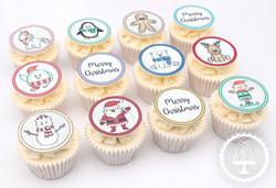20201223 - Christmas Cupcakes