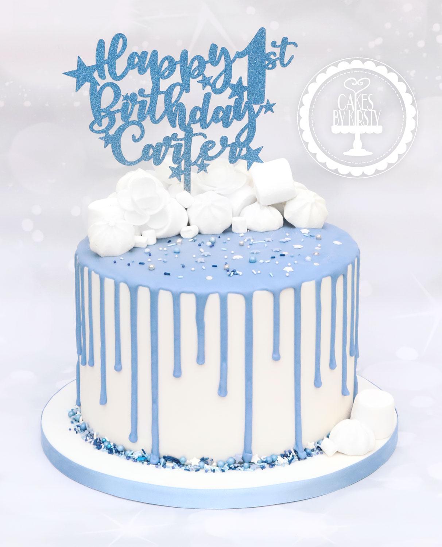 20200216 - 1st Birthday Drip Cake