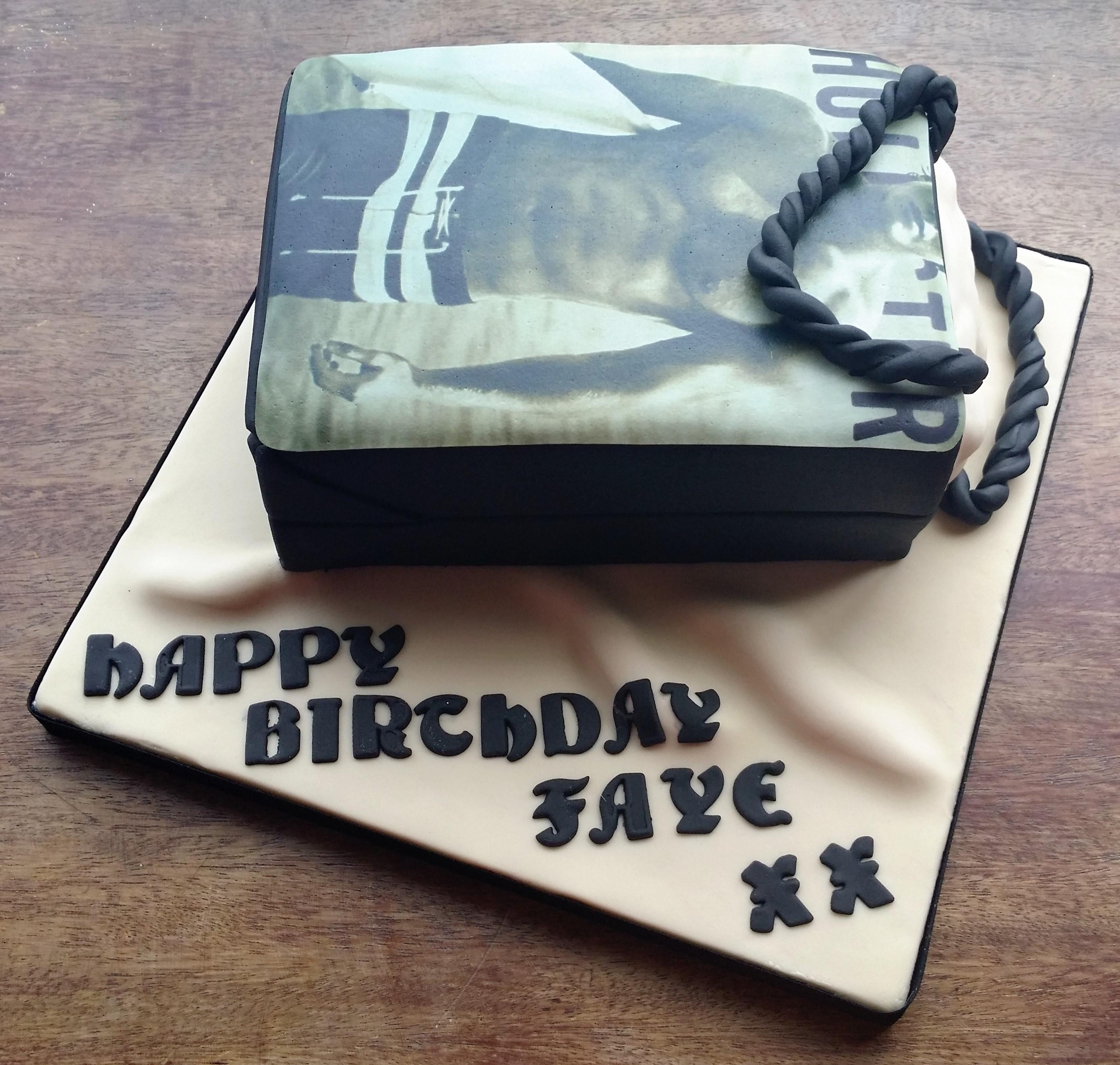 Hollister Bag Cake