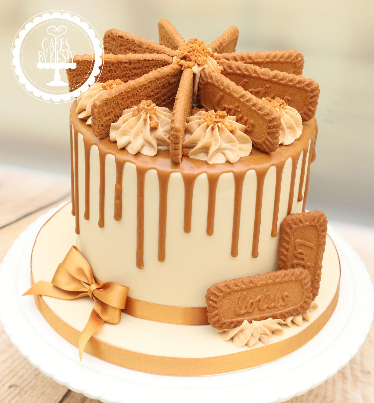 20191020 - Biscoff Drip Cake