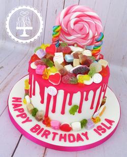 Haribo Sweet Drip Birthday Cake