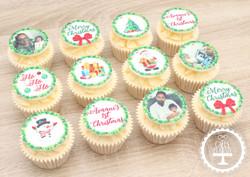 20201224 - 1st Christmas Cupcakes