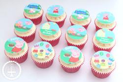 20200725 - Peppa Pig Cupcakes