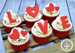 Valentine's Cupcakes