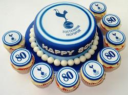 Tottenham Hotspur Cake & Cupcakes
