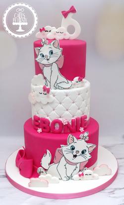 Aristocats 6th Birthday Cake
