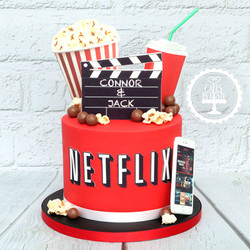 20201219 - Netflix Cake
