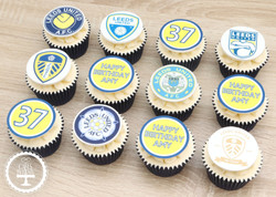 20210206 - Leeds United Cupcakes