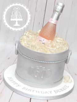 20200202 - Ice Bucket 60th Birthday Cake