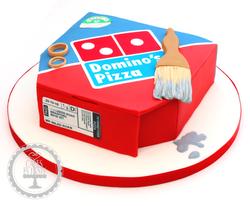 20190829 - Dominos Pizza Box Cake