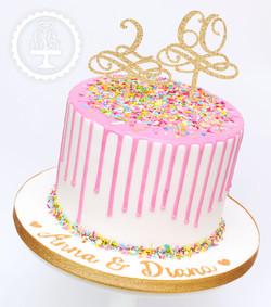 20191123 - Confetti Drip Cake