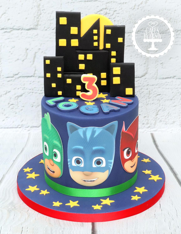 20201212 - PJ Masks Cake