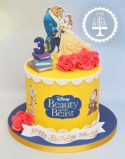 20210115 - Beauty and the Beast Cake