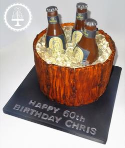 Beer Barrell Cake