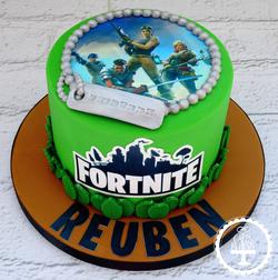 Fortnite 13th Birthday Cake