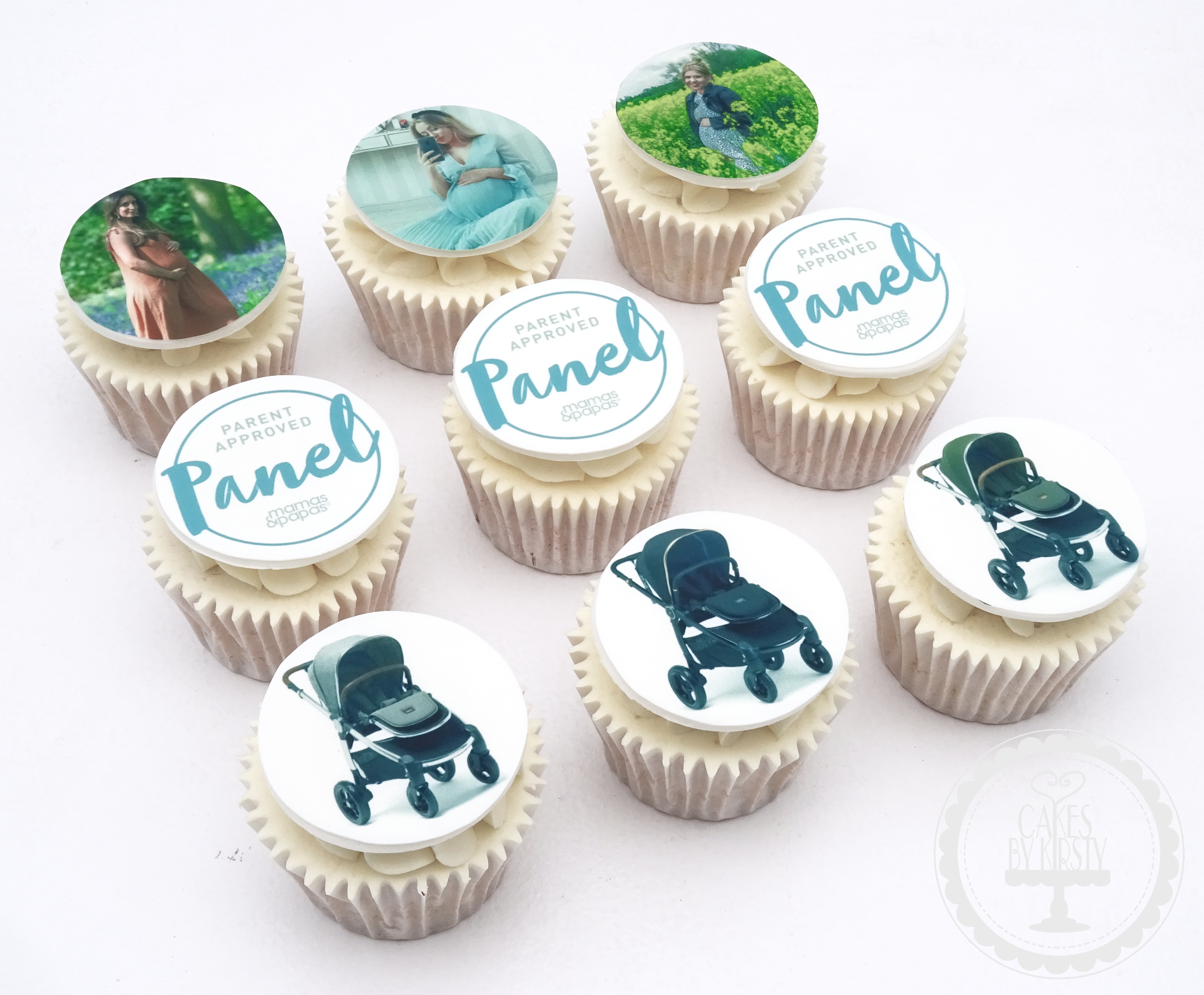 Mamas & Papas Panel Event Cupcakes