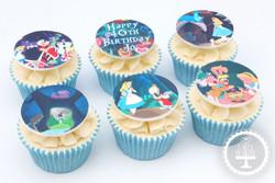 20210120 - Alice In Wonderland Cupcakes