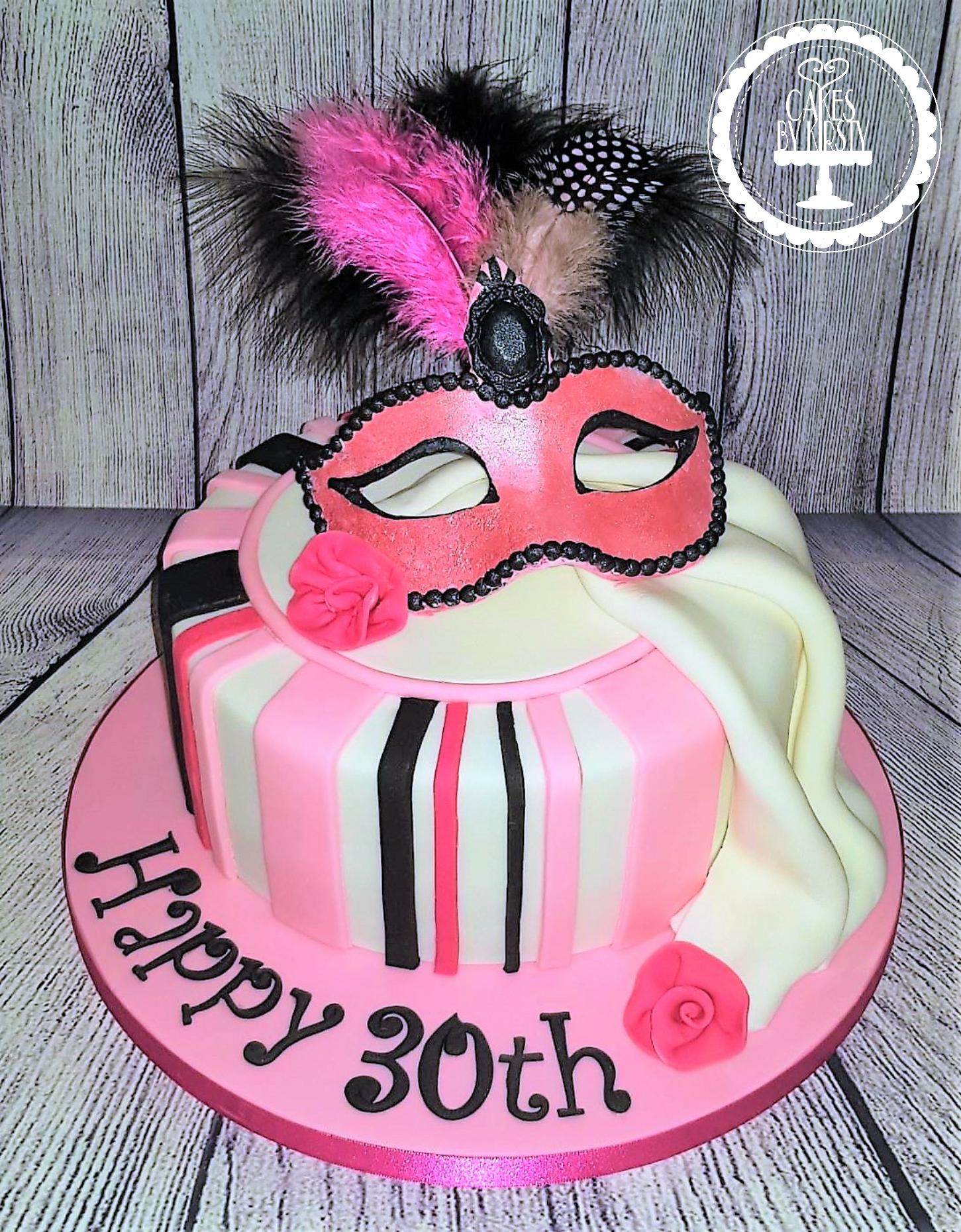 Masquerade Ball Cake