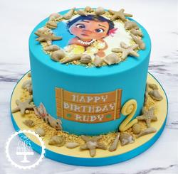 Baby Moana Cake