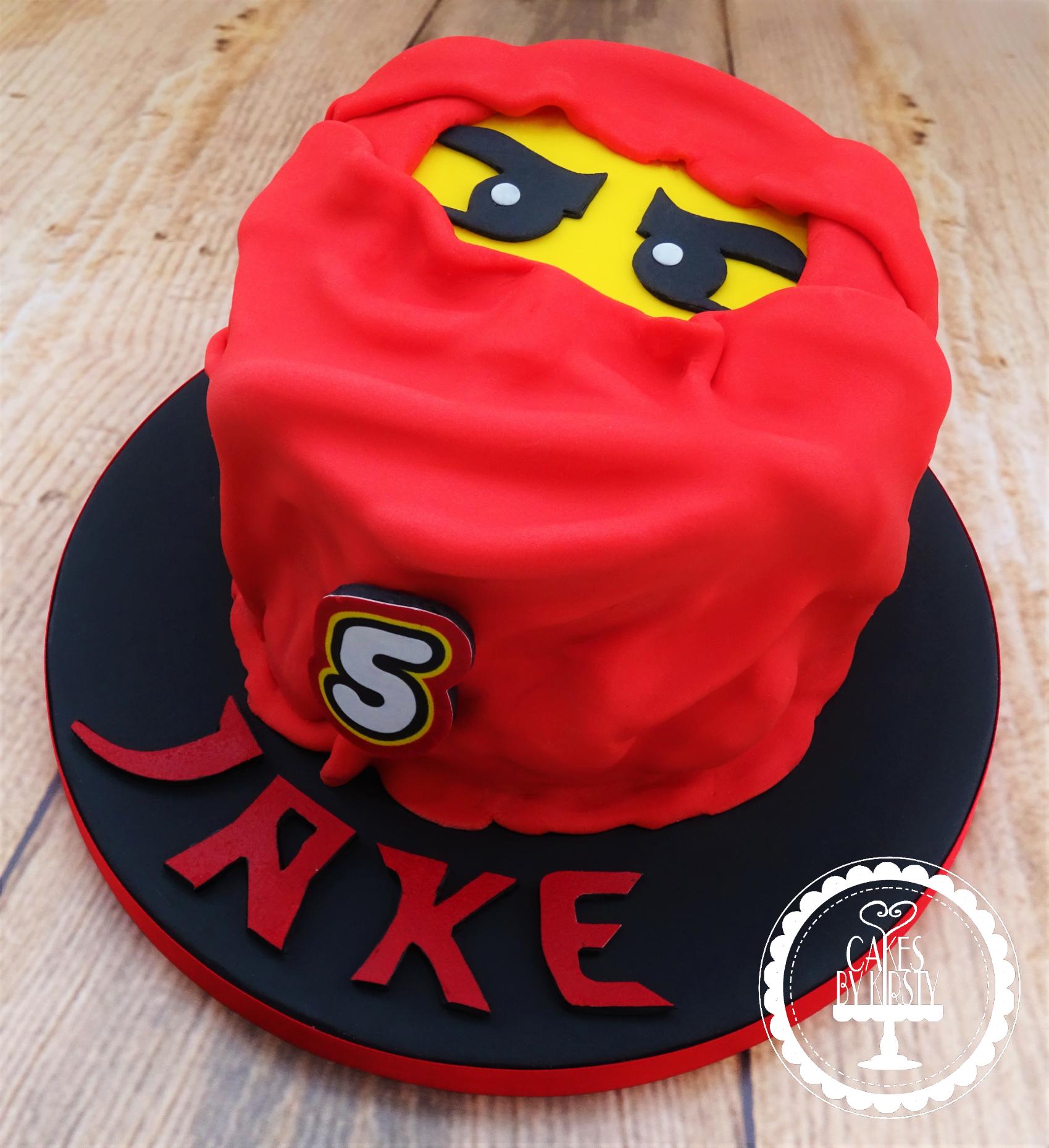 Ninjago Kai Lego Cake