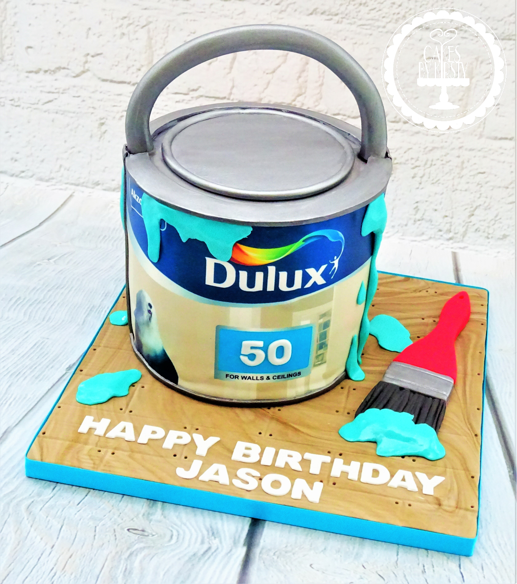 Dulux Paint Tin Cake