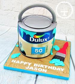 Dulux Paint Tin Cake