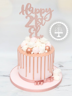 20210129-Rose-Gold-21st-Drip-Cake