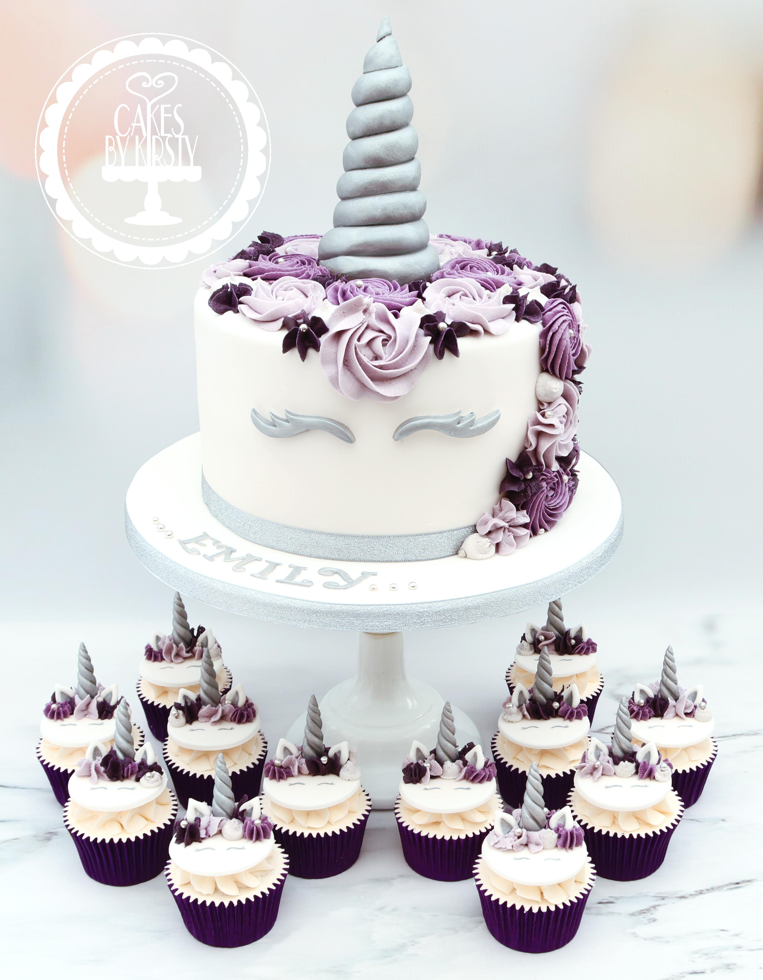 20190712 - Unicorn Cake & Cupcakes