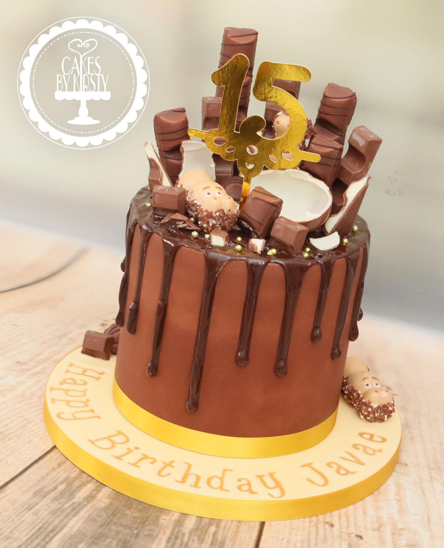 20201113 - Kinder Drip Cake