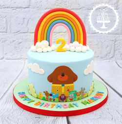 20190727 - Hey Duggee 2nd Birthday Cake