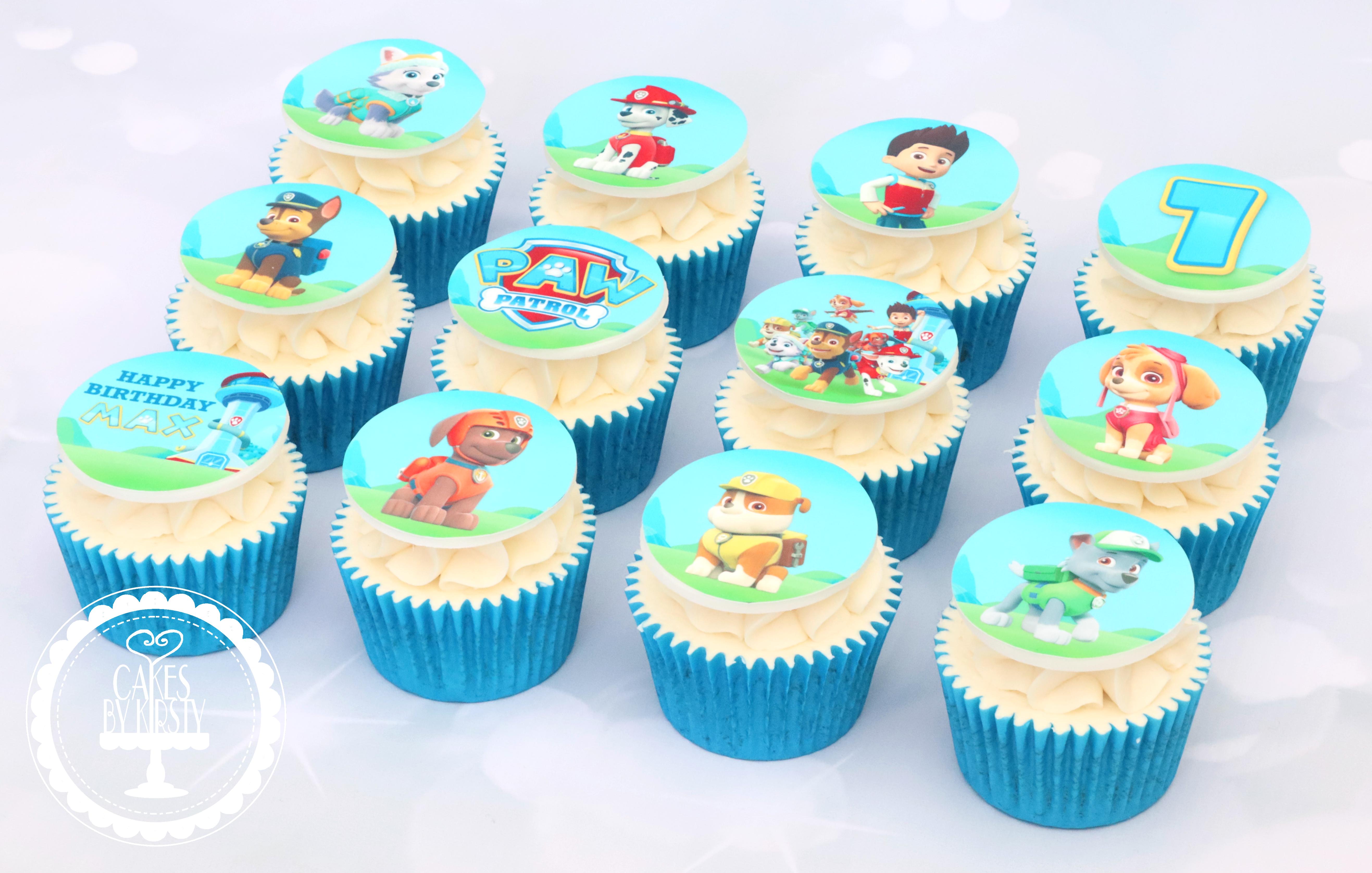 20190906 - Paw Patrol Cupcakes