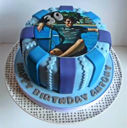 30th Photo Cake