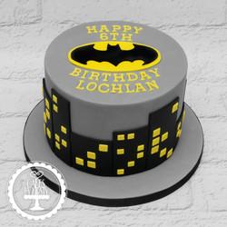 20191122 - Batman 6th Birthday Cake