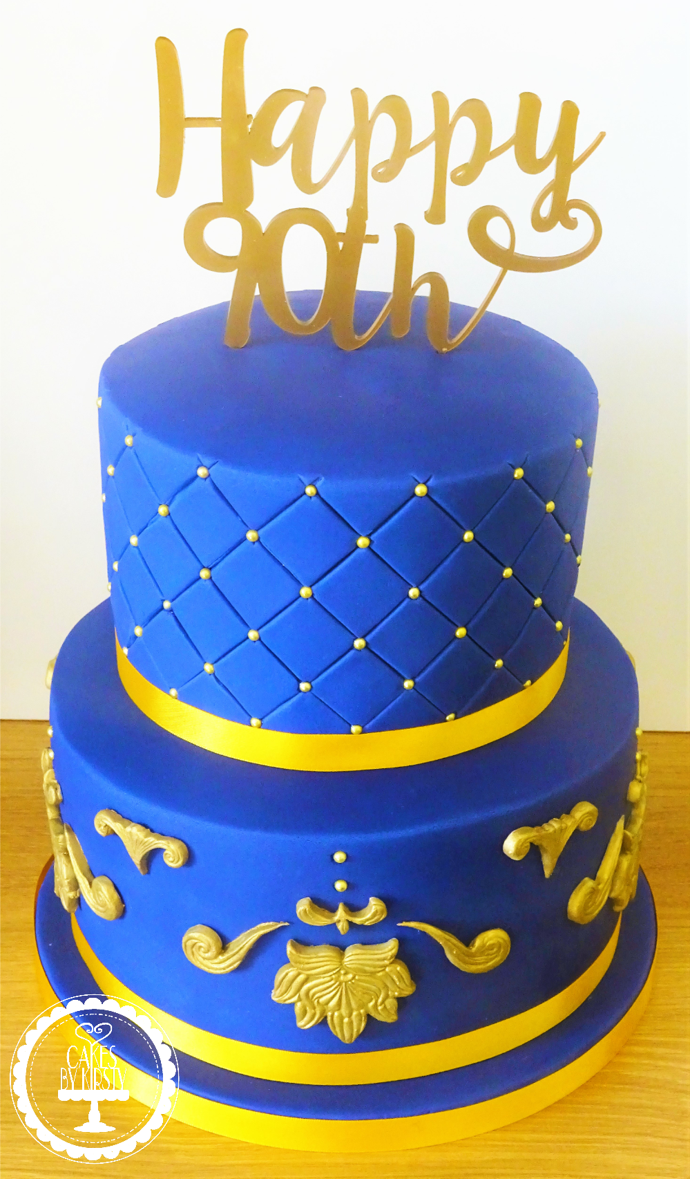 Regal 90th Cake