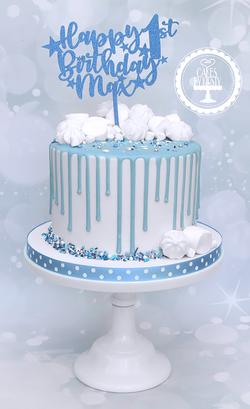 20190906 - 1st Birthday Drip Cake