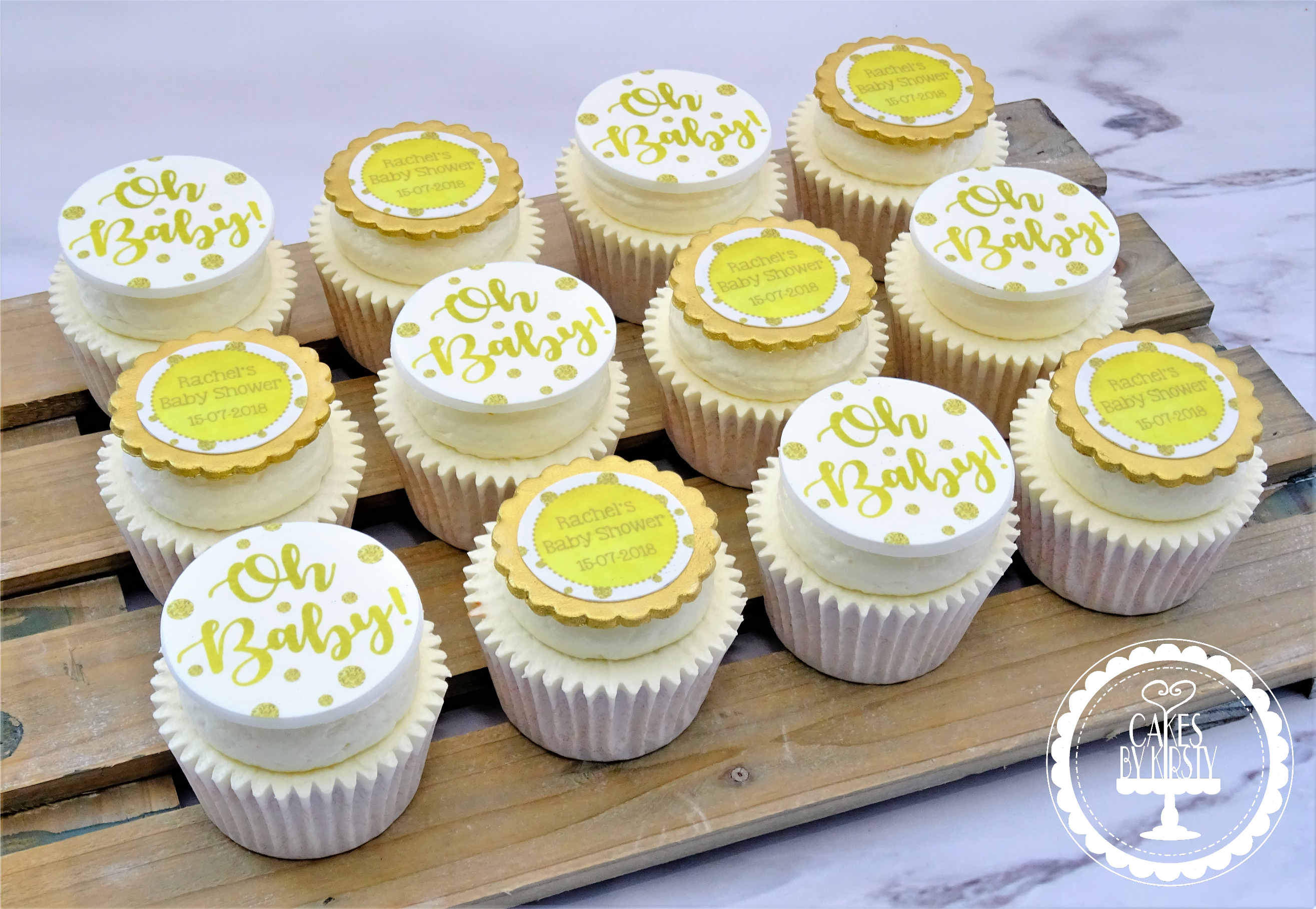 _Oh Baby_ Baby Shower Cupcakes