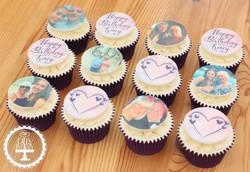 20201116 - Purple Birthday Image Cupcake