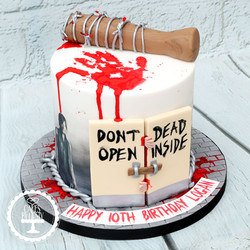 20210109 - Walking Dead Cake