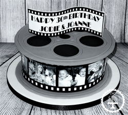 Film Reel Cake