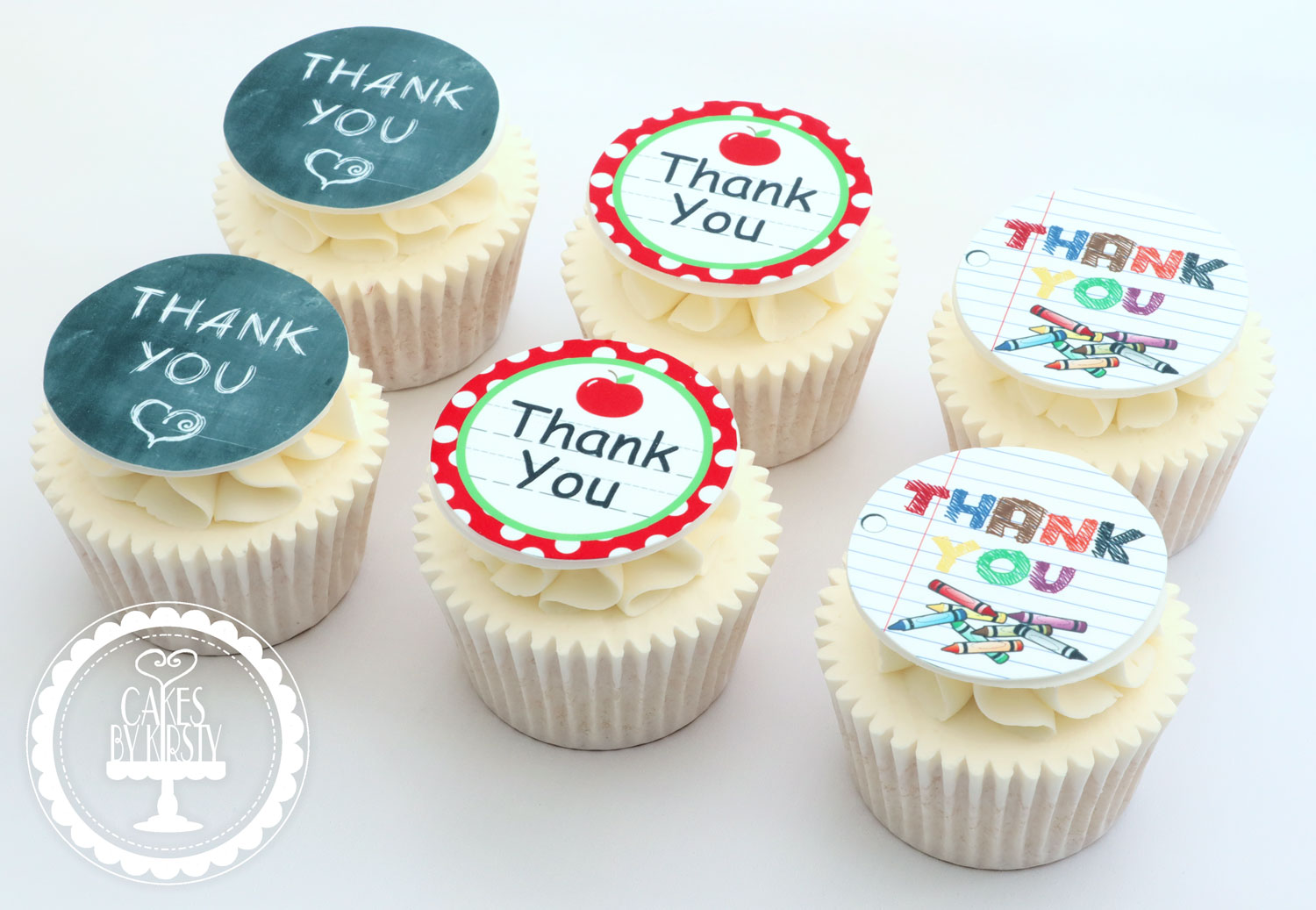 20200716 - Thank You Teacher Cupcakes