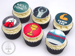 Well Done Boxing Cupcakes