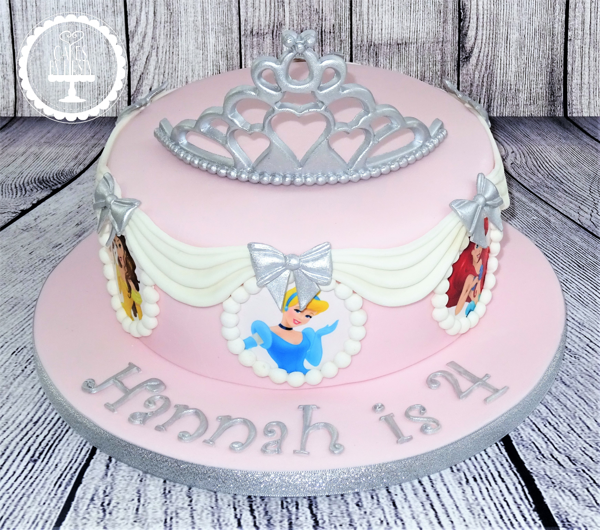 Disney Princess Tiara Cake