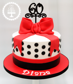 20190809 - 60th Birthday Cake