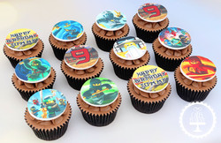 20200904 - Ninjago Cupcakes