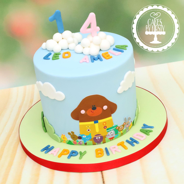 20200126 - Hey Duggee Cake