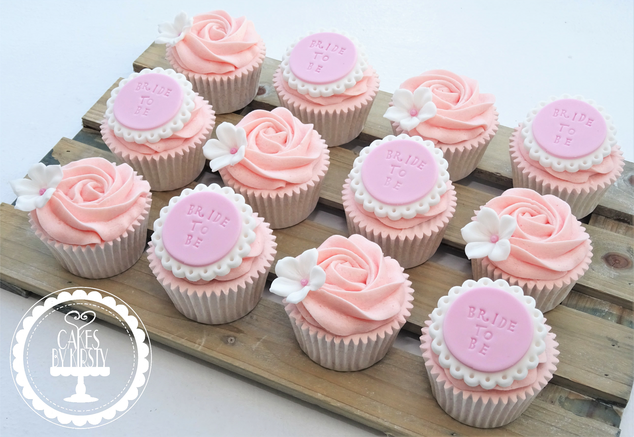 Bride to Be Hen Do Cupcakes