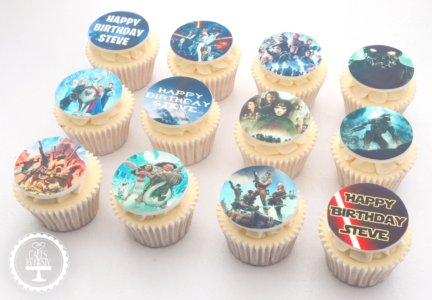 20201017 - Gaming Movie Cupcakes