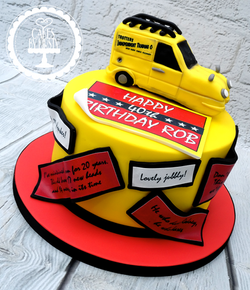 Only Fools and Horses 40th Birthday Cake