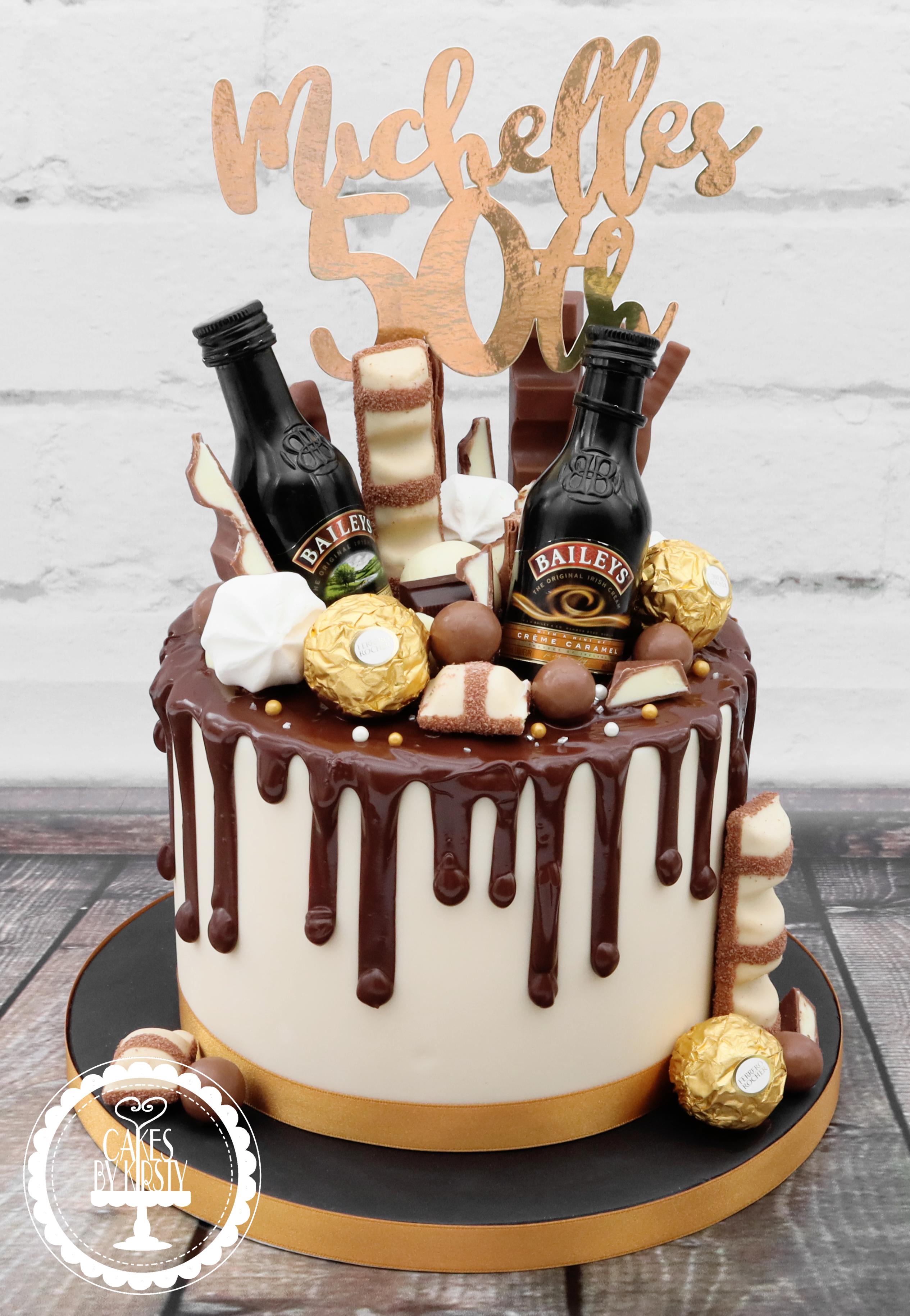 20190810 - Bailey's Drip Cake